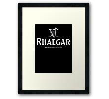 Rhaegar Guinness Logo Framed Print