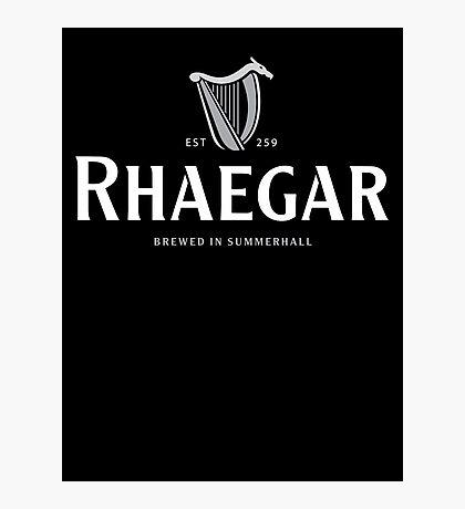 Rhaegar Guinness Logo Photographic Print