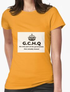 G.C.H.Q Womens Fitted T-Shirt