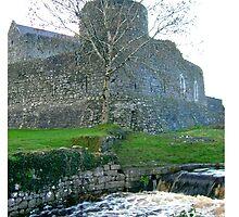 Castle in Athenry Ireland by Osbren
