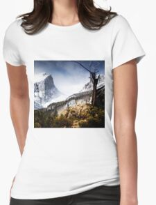 Winter's Valley Womens Fitted T-Shirt