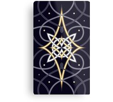 Ostara Tarot Card Design 3 Metal Print