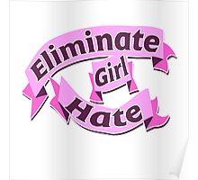 Eliminate girl hate Poster