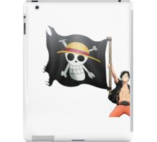Luffy with the flag iPad Case/Skin