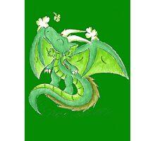 St. Patrick's Day Dragon Photographic Print