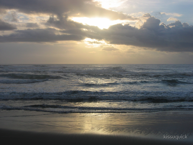 Pacific Ocean, Oregon. by kissuquick
