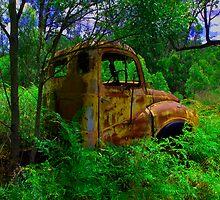 Rusty by GayeL Art