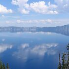 Crater Lake, Oregon  - Panorama by kissuquick