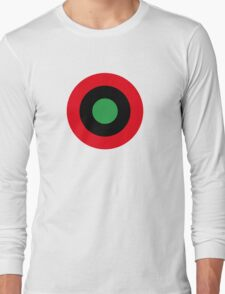 Roundel of Libyan Air Force, 1959-1969 Long Sleeve T-Shirt
