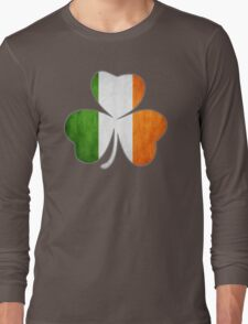 Tricolor Shamrock Long Sleeve T-Shirt