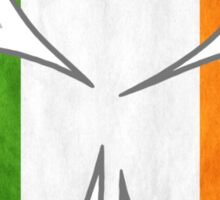 Tricolor Shamrock Sticker