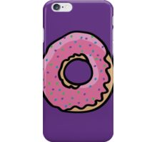 Donut with sprinkles iPhone Case/Skin