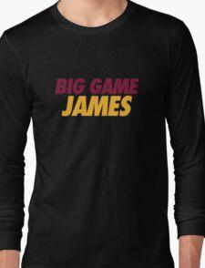 BIG GAME JAMES  Long Sleeve T-Shirt