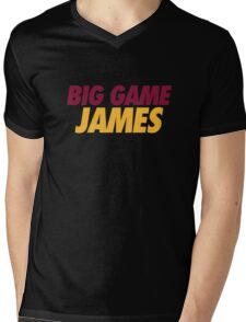 BIG GAME JAMES  Mens V-Neck T-Shirt