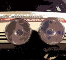 daihatsu rally car Sticker