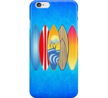 Surfboards iPhone Case/Skin