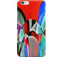 Insect view of a garden iPhone Case/Skin