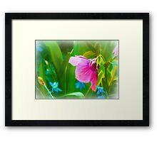 April Colors Framed Print