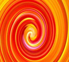 Swirl Long Sleeve Sticker
