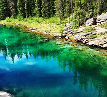 The Emerald Lake by Zuzana D Photography