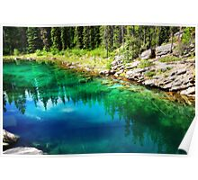 The Emerald Lake Poster