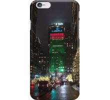 Christmas In New York iPhone Case/Skin