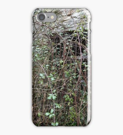 Lime Kiln very overgrown iPhone Case/Skin