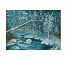 Winter Snow Art Print