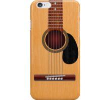 Acoustic Guitar iPhone Case/Skin