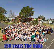 150 Years The Oaks by Sharon Robertson