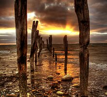 Kangaroo Island Sunrise by Steve Chapple