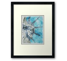 Crown of Liberty Framed Print