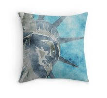 Crown of Liberty Throw Pillow