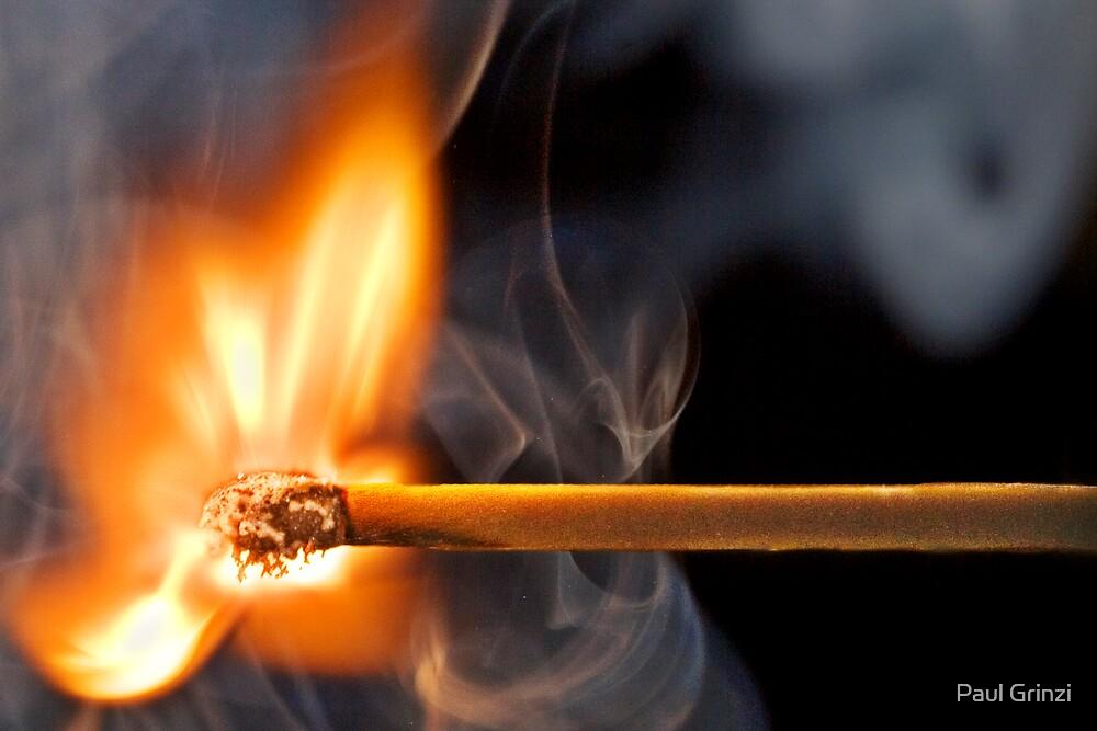 Flame 3 by Paul Grinzi
