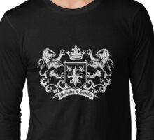 Ministry of Snooker (White) Long Sleeve T-Shirt