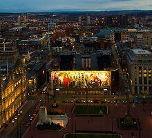 Glasgow by night by Brian Canavan