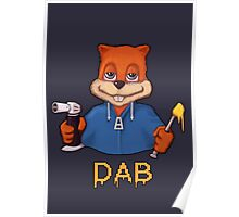 Squirrel Dab Poster