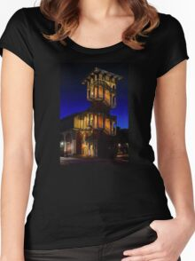 The Tower Women's Fitted Scoop T-Shirt