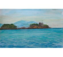 Turkish castle Photographic Print
