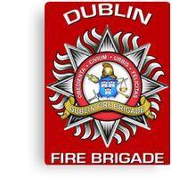 Dublin Fire Brigade Canvas Print