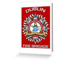 Dublin Fire Brigade Greeting Card