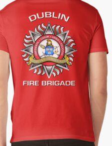 Dublin Fire Brigade Mens V-Neck T-Shirt