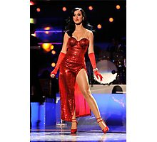 Katy Perry Superbowl Photographic Print