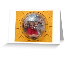 Bubble Kids Greeting Card