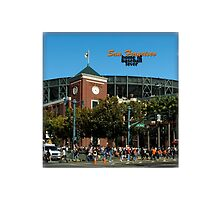 San Francisco Home of Baseball Fever by don thomas