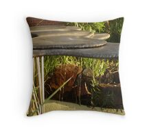 Uni Fountain Throw Pillow