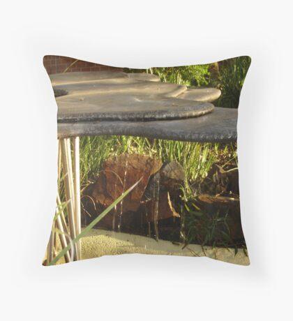 Uni Fountain Throw Pillow