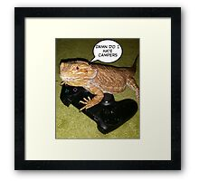 ps4 dragon Framed Print
