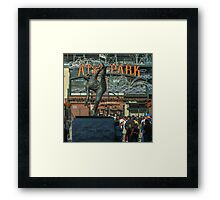 Giants Ballclub Framed Print