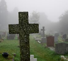 Misty Morning in the Graveyard by DonDavisUK